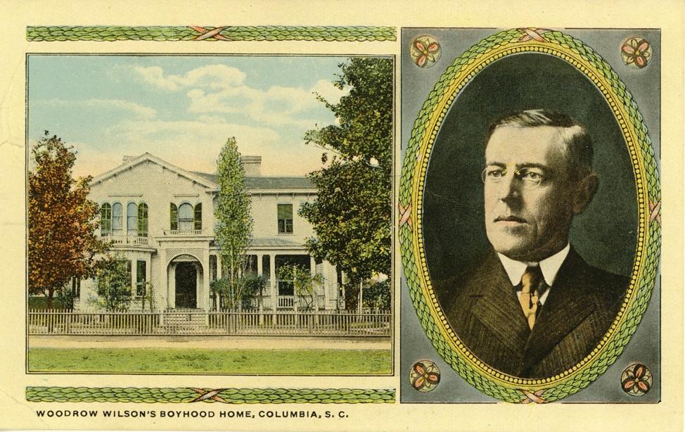 Woodrow Wilson's Home in Columbia