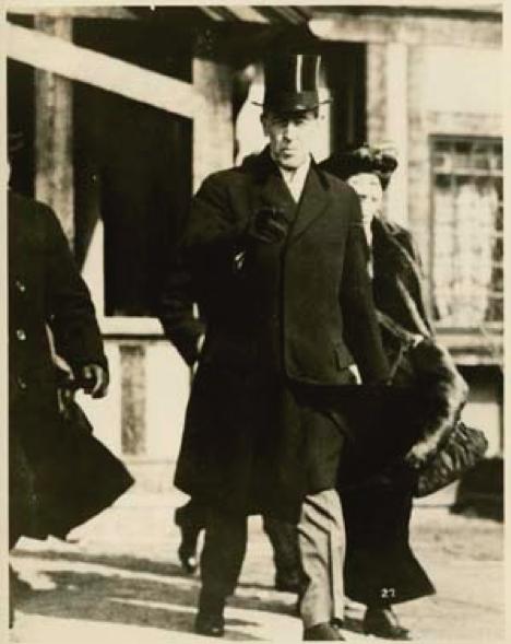 The Wilsons Leaving Princeton for Washington