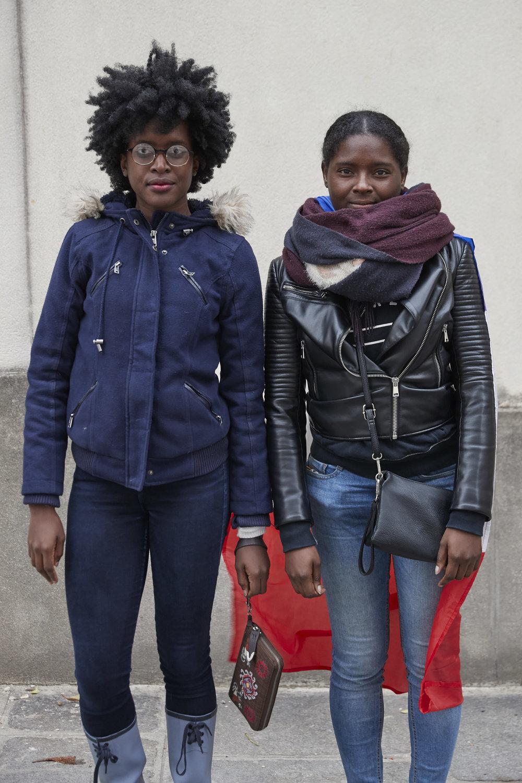 Myra (Left) and Katya (Right)