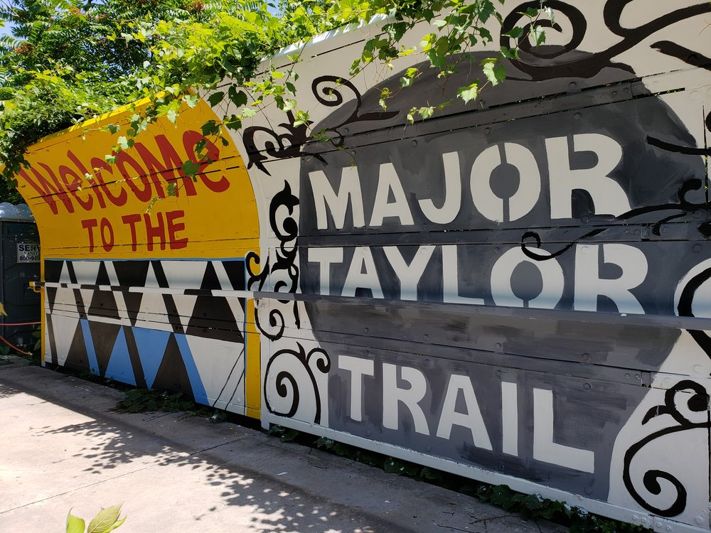 Major Taylor Trail Mural, 2018