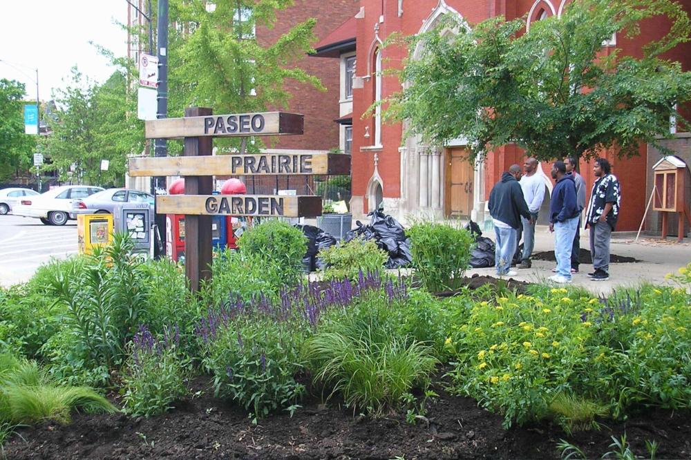 Paseo Prairie Garden, 2006