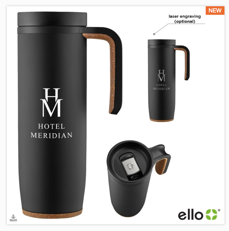 18 Ounce Ello Magnet Vacuum Stainless Mug  Product #: MAGNET