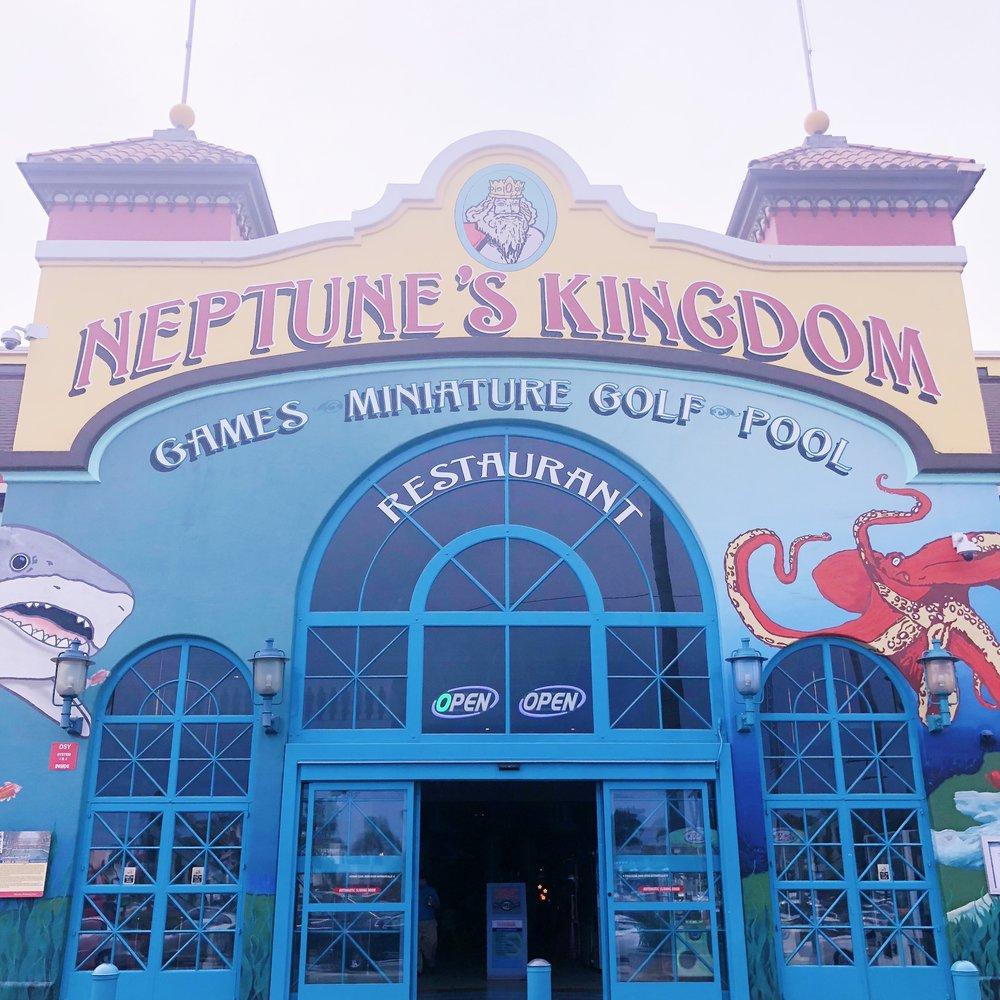 Sanya Cruz Beach Boardwalk Neptunes Kingdom