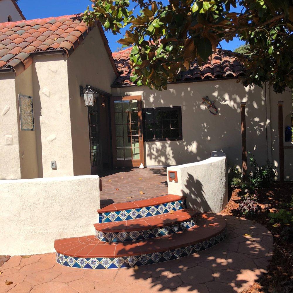Palo Alto Mission Revival House front