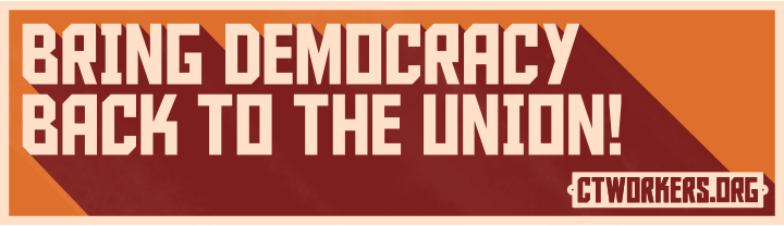 """""""Bring Democracy Back to the Union!"""""""