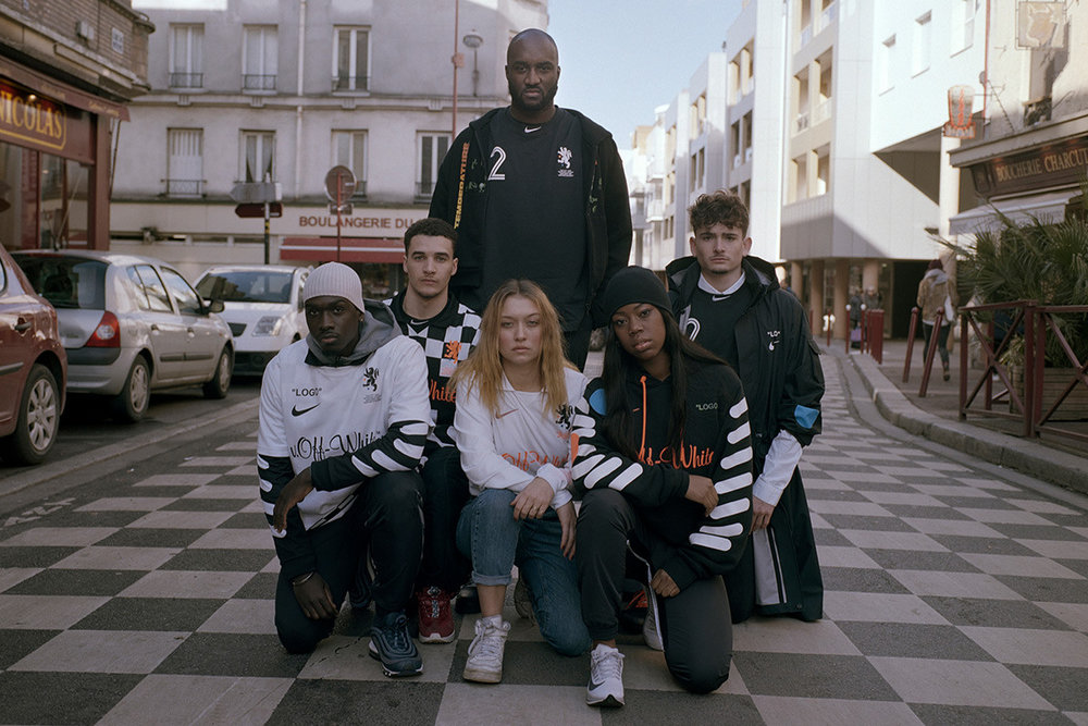 "Nike x Off-White collection ""Football, mon amour"""