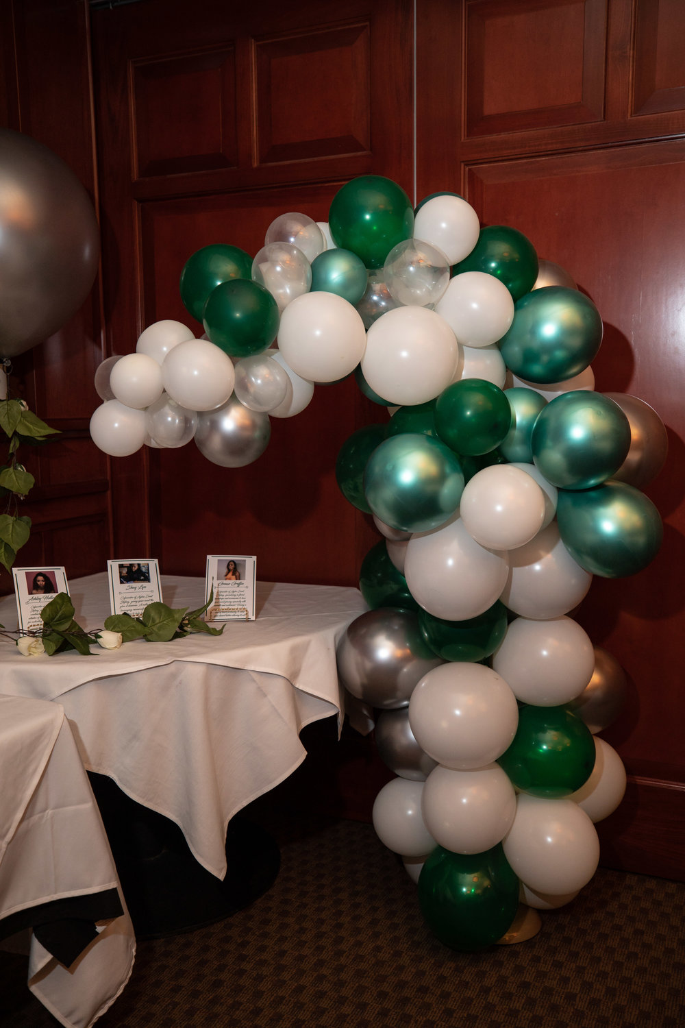 Aglow Balloon Arch