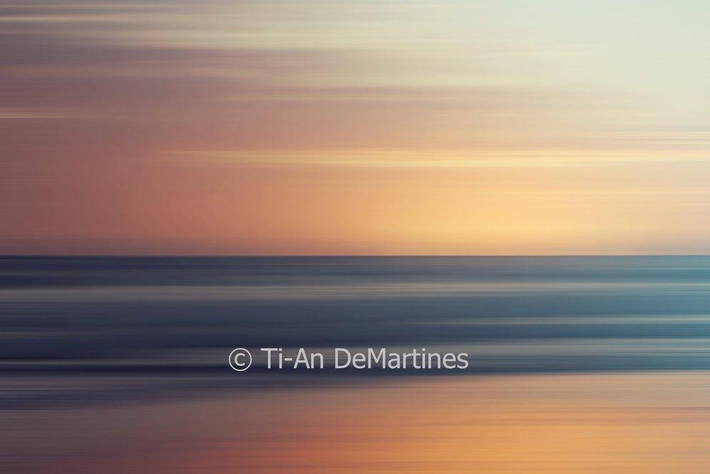 Sunrise at Bilinga II   Digital photograph  2018