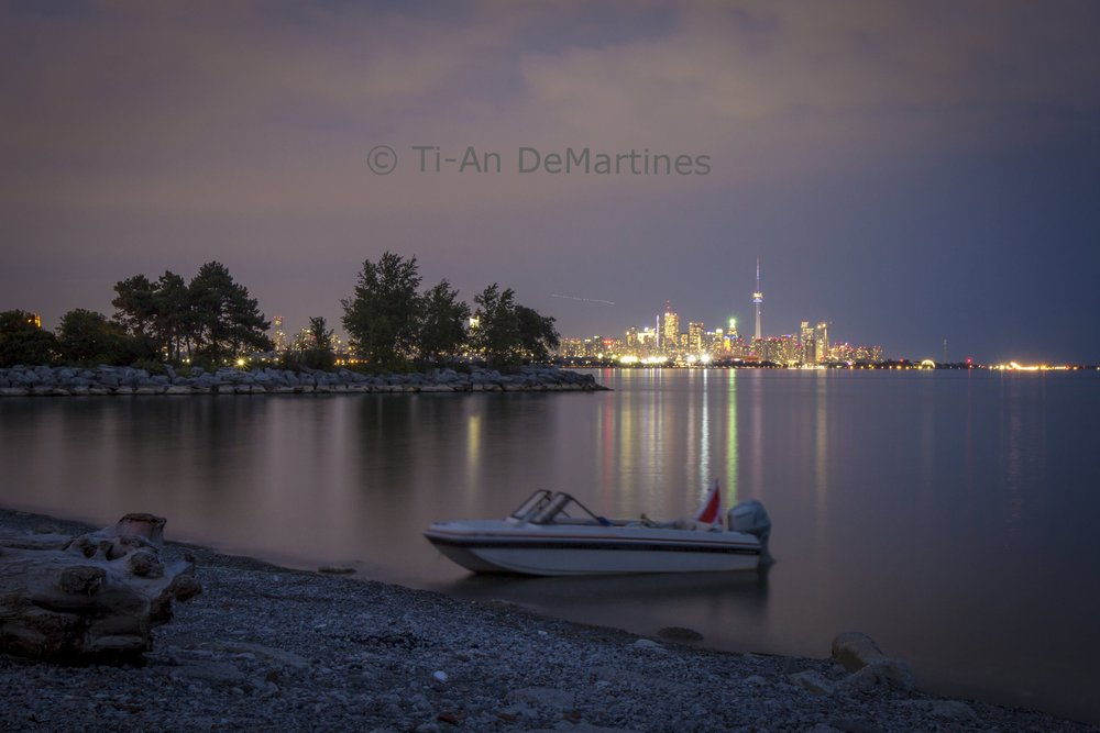 The Lone Man's Boat at Humber Bay Park   Digital photograph  2017