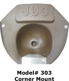 Model # 303  Corner Mount