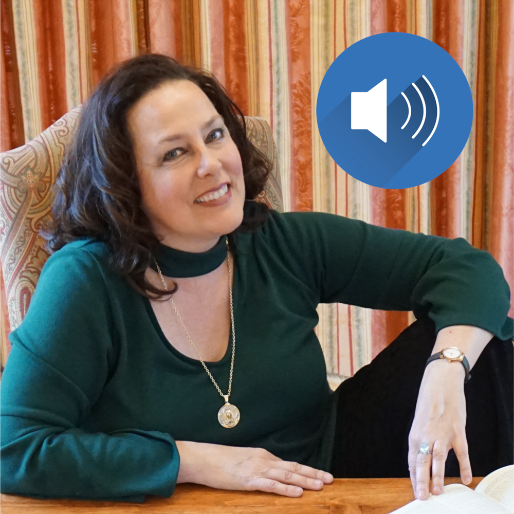 8 Audio Sessions - 30-45 minute talks by author Liz Kelly offer inspiration and enrichment
