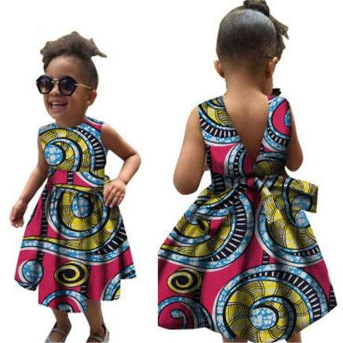 Little Girls African Print Designer Dresses c83847d6e