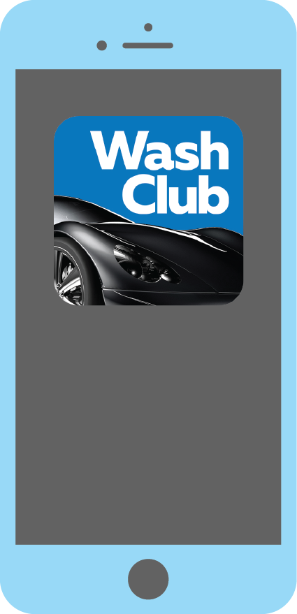 Getting Started - 1. Download the Wash Club app on your mobile device2. Enter your vehicle and credit card information3. Select your wash package and monthly payment options4. Find your nearest Rocket Wash with the app