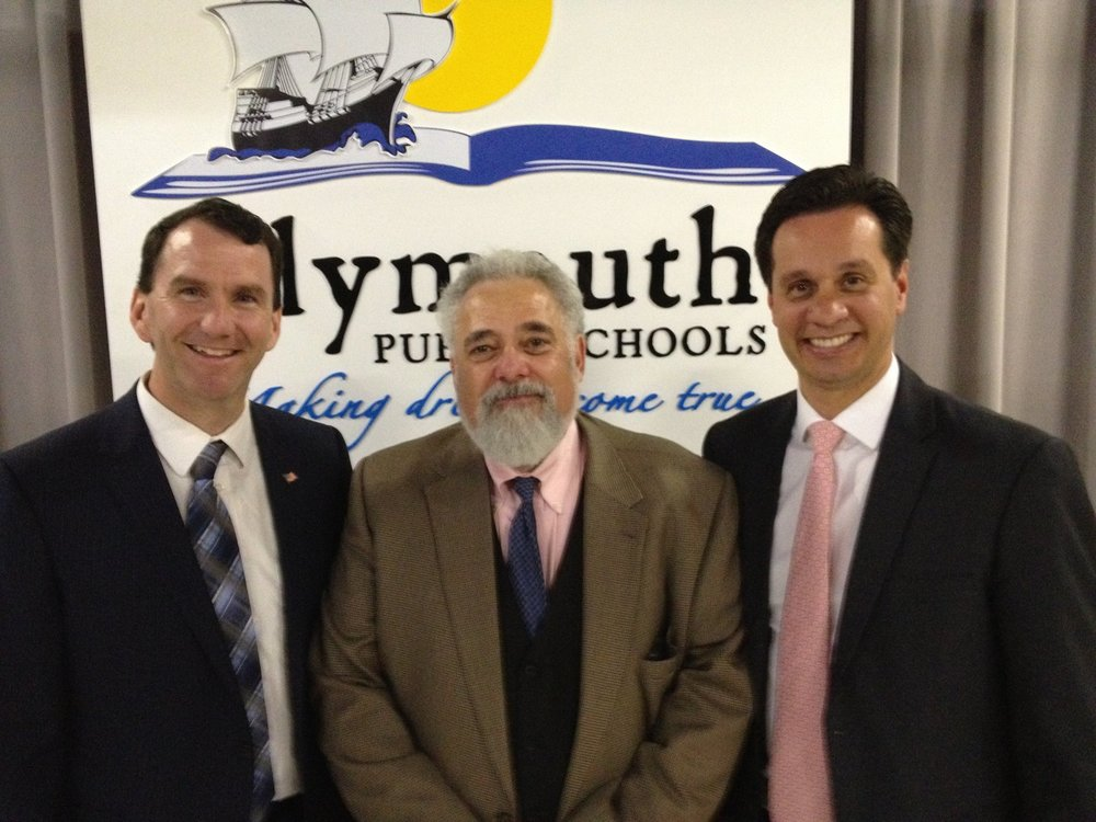 Thank you then-State Rep Jim Cantwell and Senator Vinny deMacedo!