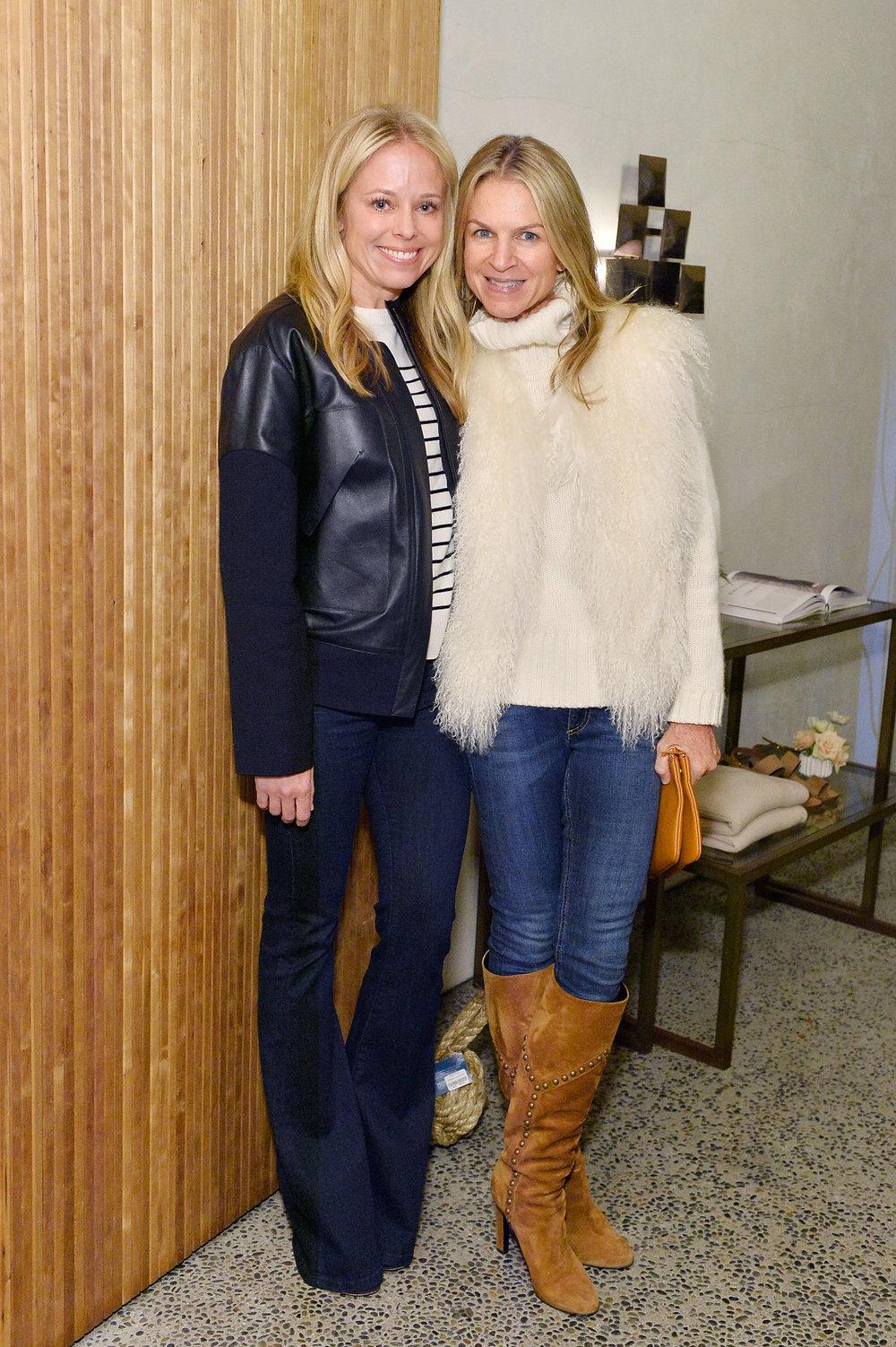 Shannon Rotenberg & Crystal Lourd