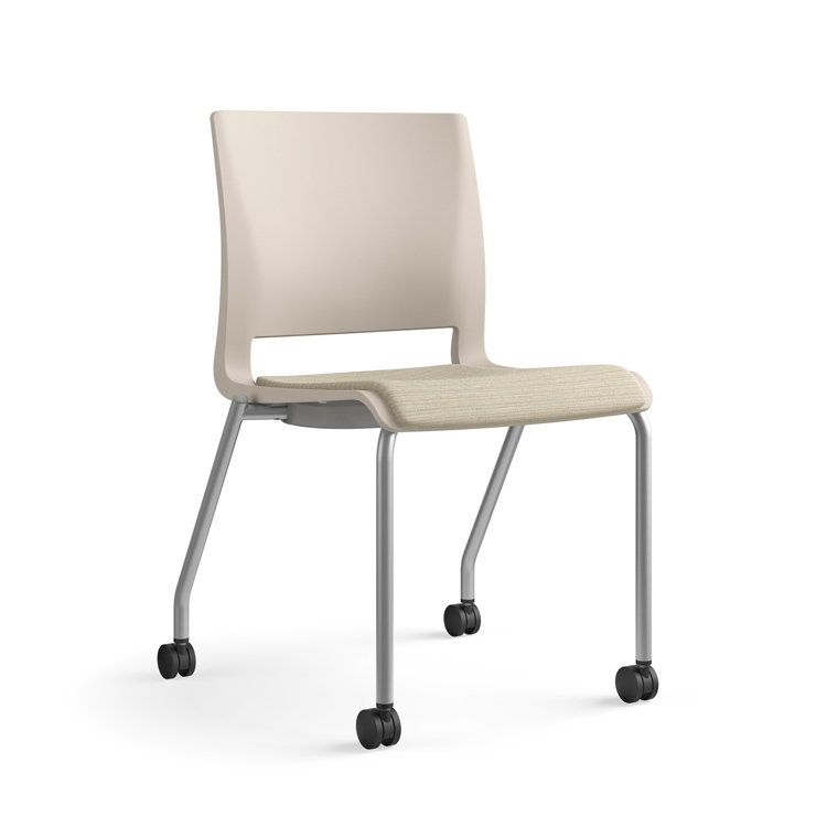 new_rio_multipurpose_chair_latte_shell_soi_metro_westminster_casters_front.jpg