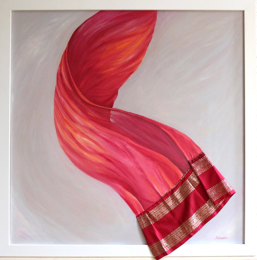 Red Sari, Anita Chanda