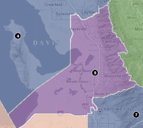 District 5 Boundary Map