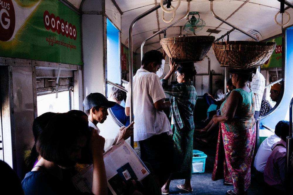 Circle Train Myanmar