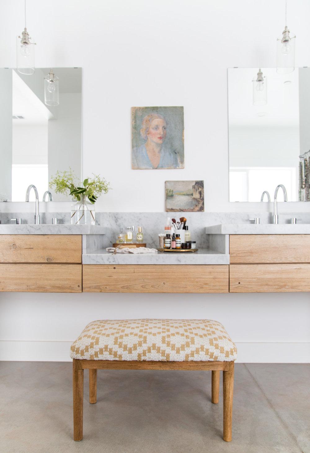 Heather Bullard | Marble Wood Vanity-2-2
