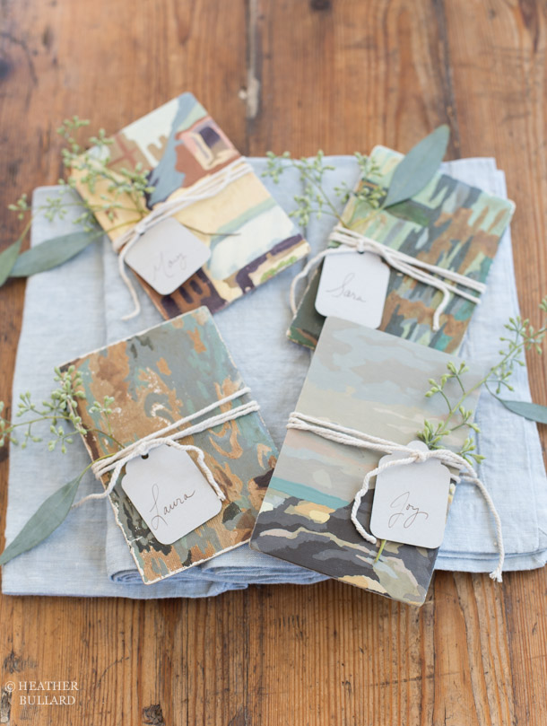 Heather Bullard | Paint-by-Number Placecard 1