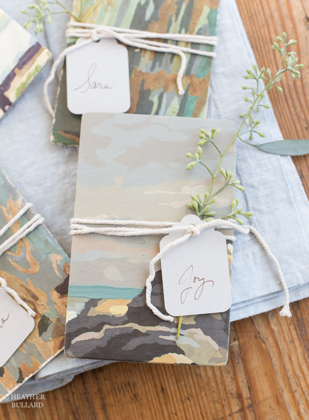 Heather Bullard | Paint-by-Number Placecard 3