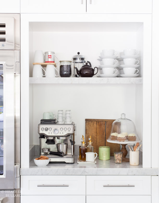 The Coffee & Tea Station — HEATHER BULLARD