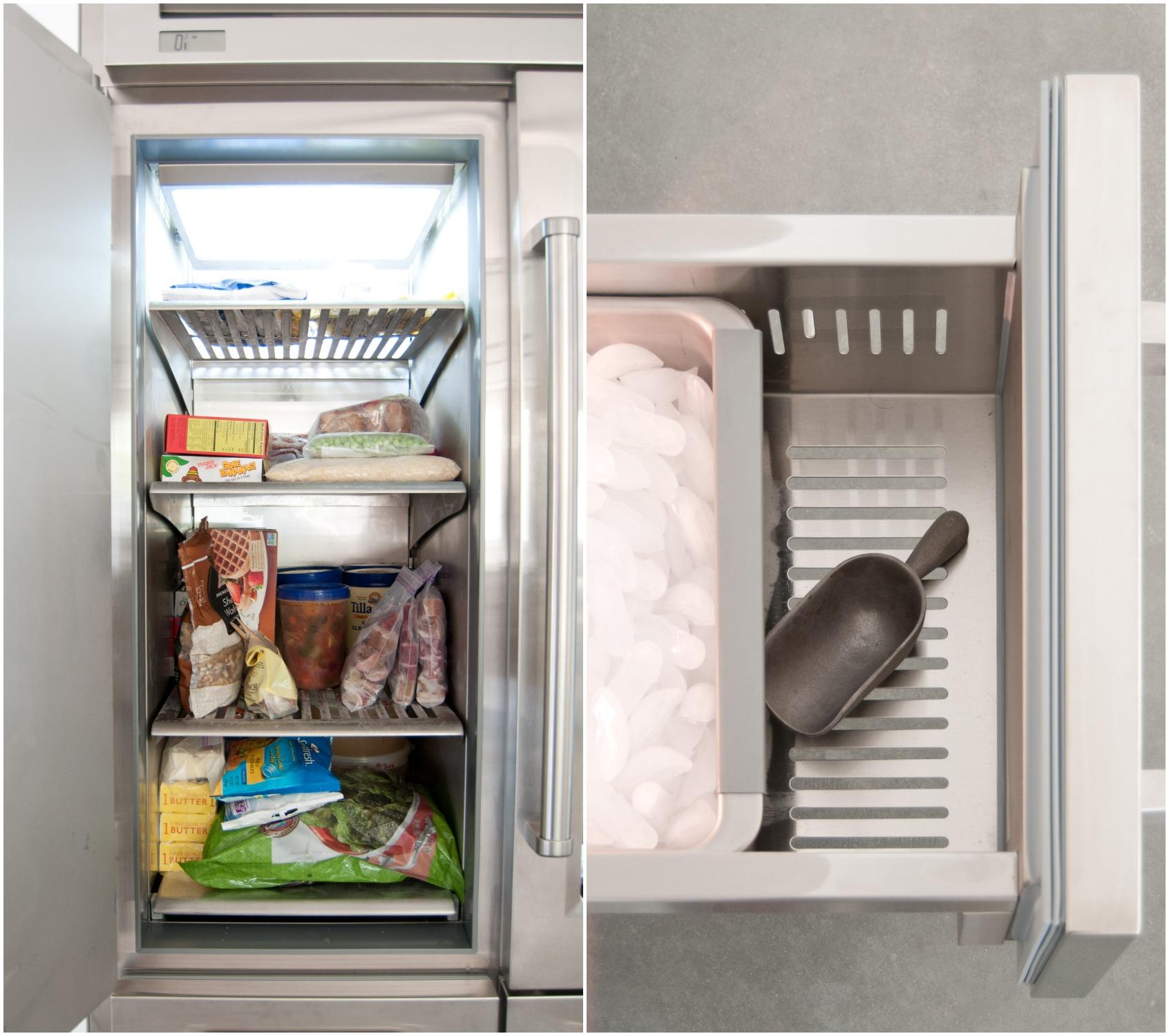 Sub Zero Glass Door Refrigerator sub zero pro 48 glass door refrigerator — heather bullard
