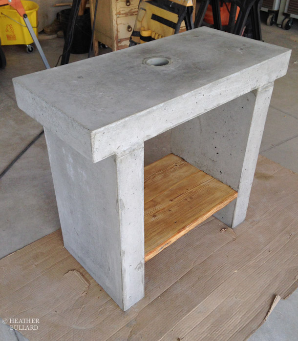 Heather Bullard DIY Concrete Vanity 14