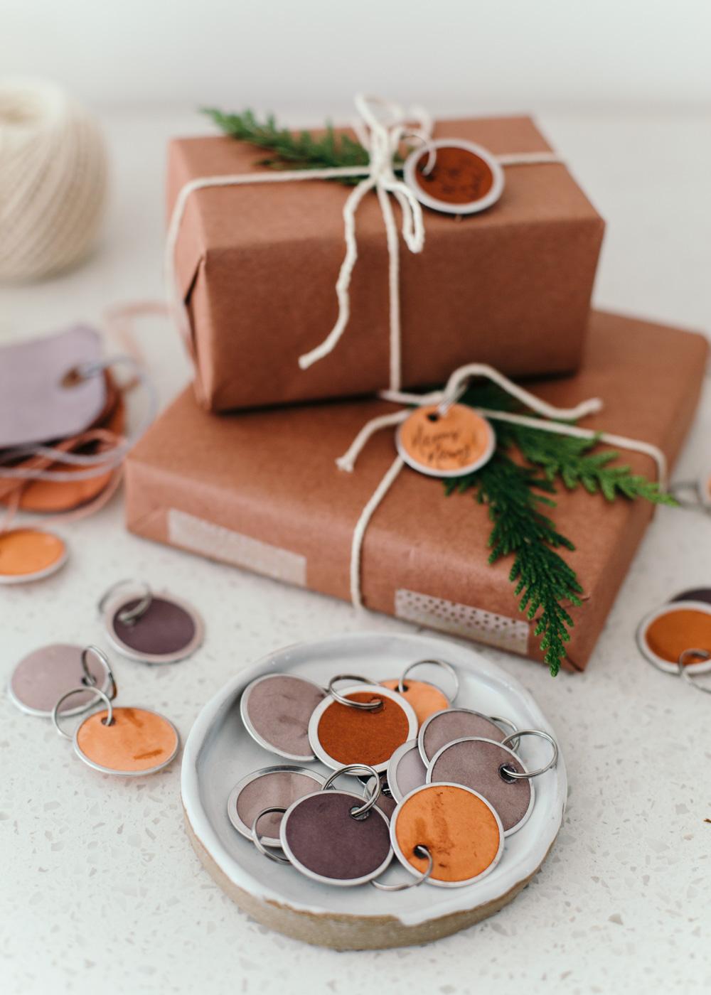 DIY - Hand Dyed Gift Tags - Heather Bullard