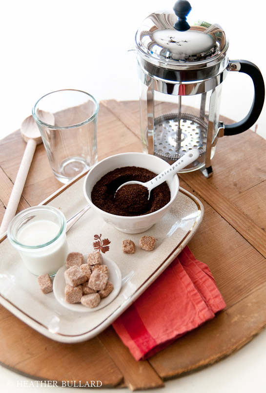 How to use a French Press | Heather Bullard