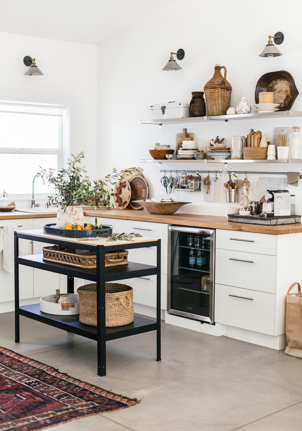 How I Organize My Studio Kitchen Heather Bullard