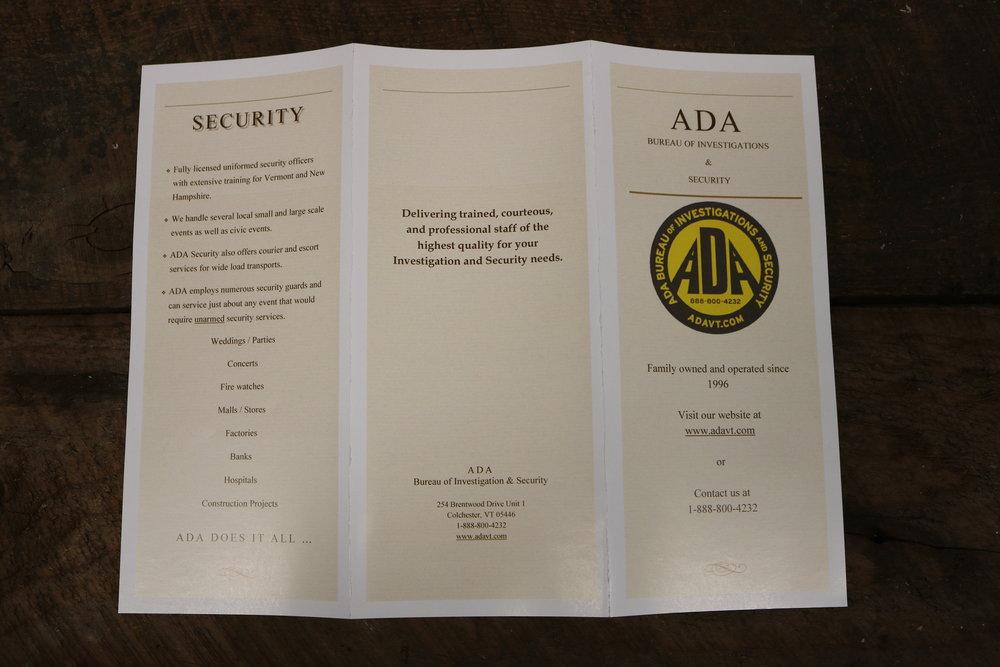Pamphlets & Brochures