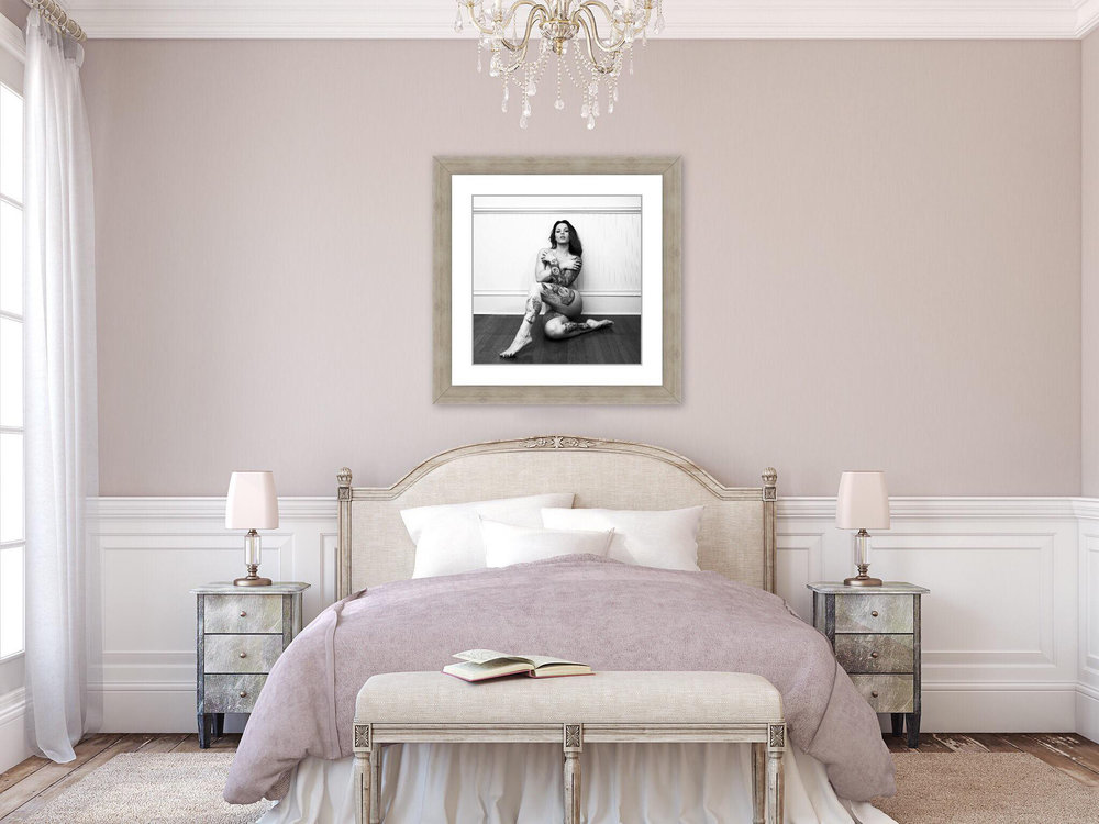 Become a Work of Art - with our canvases, framed prints, and even lockets!