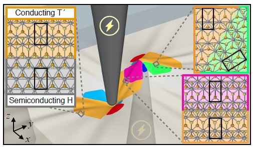Dynamic Phase Engineering of Bendable Transition Metal Dichalcogenide Monolayers Patterning Microstructures On-the-Fly for Rapid Changes in Functionality