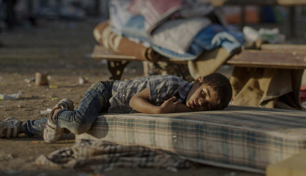 Where Syrian Refugee Kids Sleep