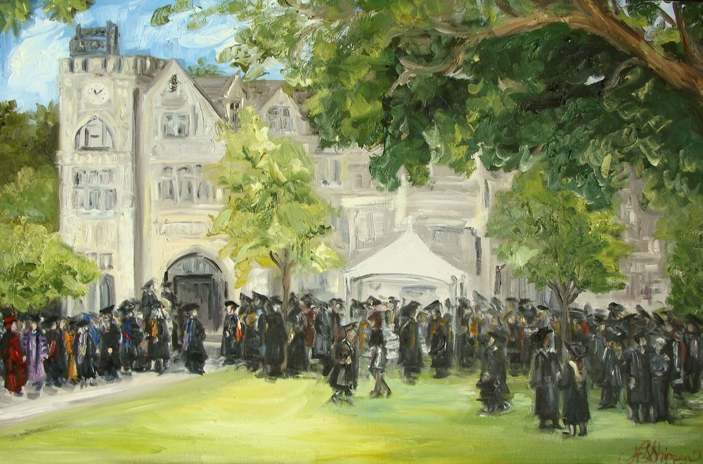 Oglethorpe University Graduation, Atlanta, Georgia