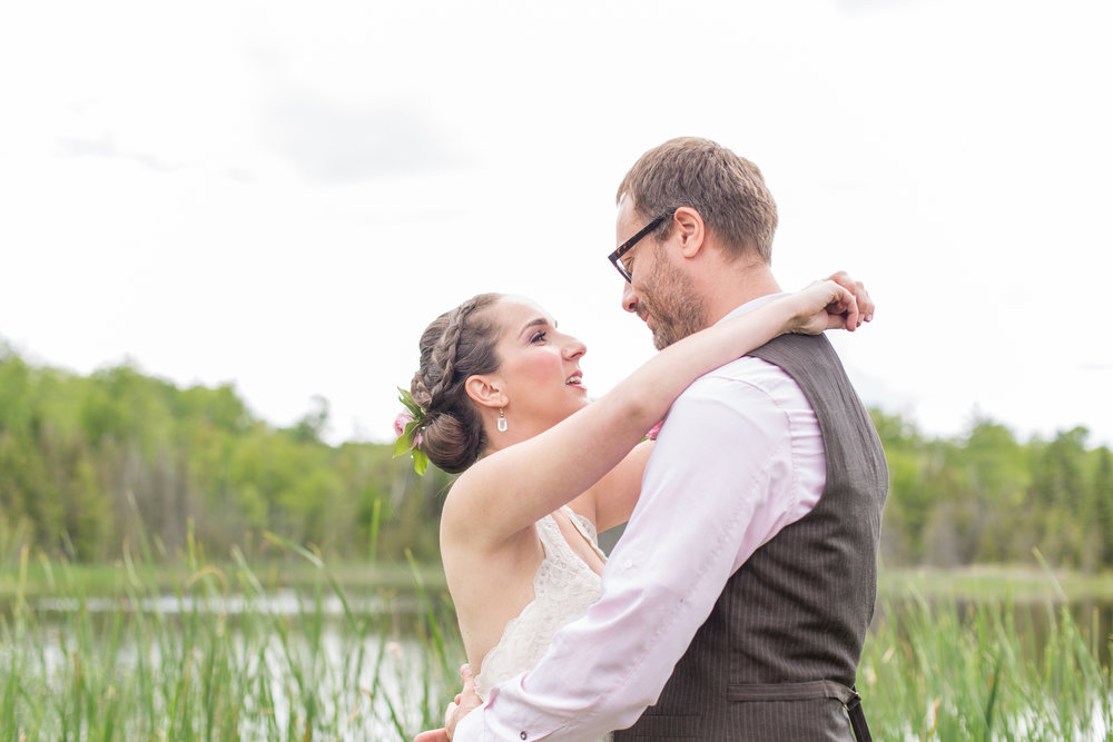 Diana and Ivan. Photo by Only hearts Photography. Brides' hair and makeup by Maya Goldenberg Eco-Beauty Professional. On location in PontyPool, On.