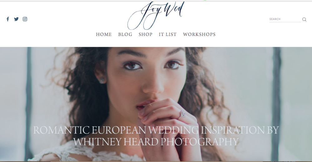 As seen on  The Joy Wed  blog. All photos by Whitney Heard, all makeup by Maya Goldenberg. Love trendy bridal makeup? Check out more from this story in my  portfolio!