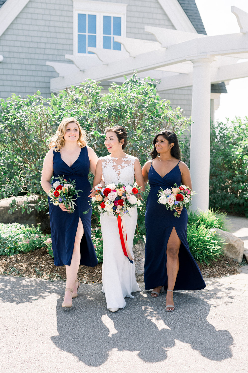 Photo courtesy of Whitney Heard 2018. Bride and bridal party's makeup by Maya Goldenberg, all hair by Shanna Layton for Maya Goldenberg, Eco-Beauty Professional. Flowers by Tina from Living Fresh.