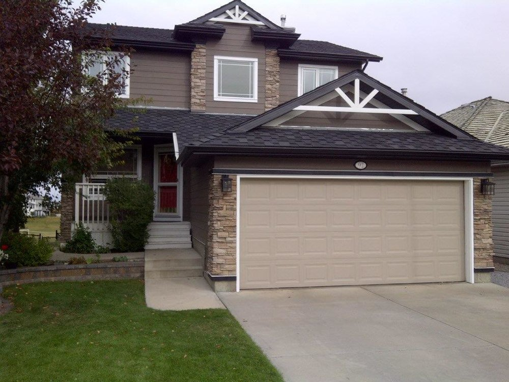 Exterior Renovation in the Calgary community of Edgemont