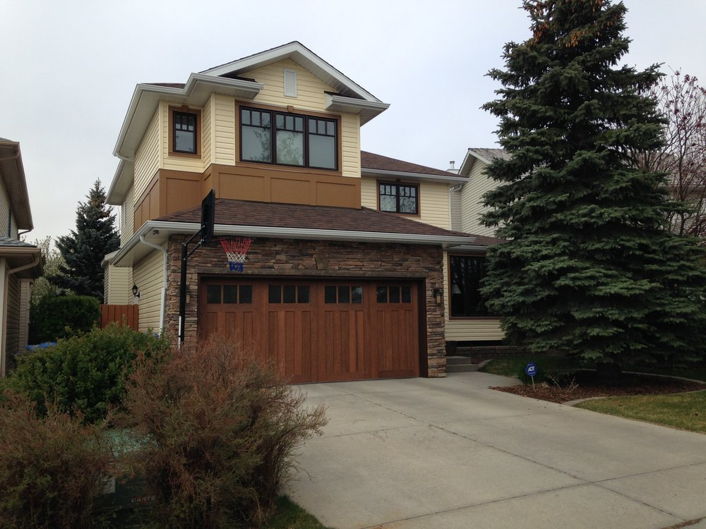 Exterior Renovation in the Calgary community of Hidden Valley