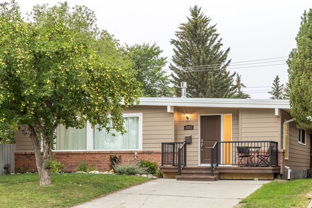 Exterior Renovation in the Calgary community of Varsity