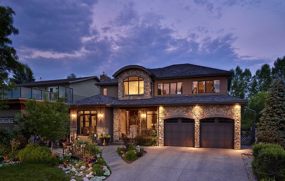 Custom Home Build in the Calgary community of Varsity Estates
