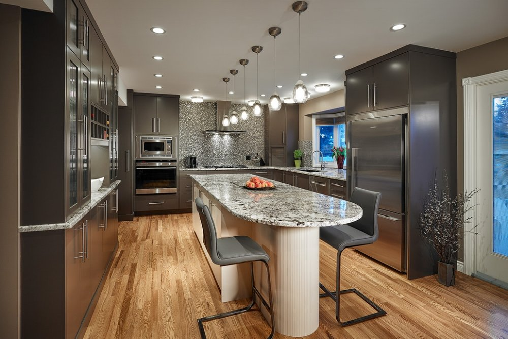 Kitchen Renovation in the Calgary community of North Glenmore Park