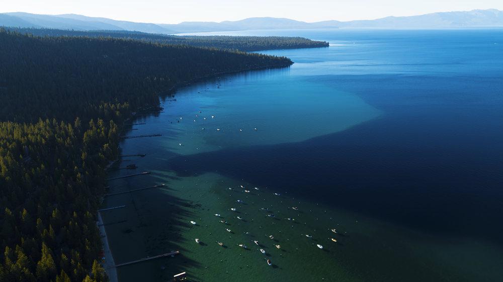 Explore Tahoe - Click below for an aerial tour of Lake Tahoe