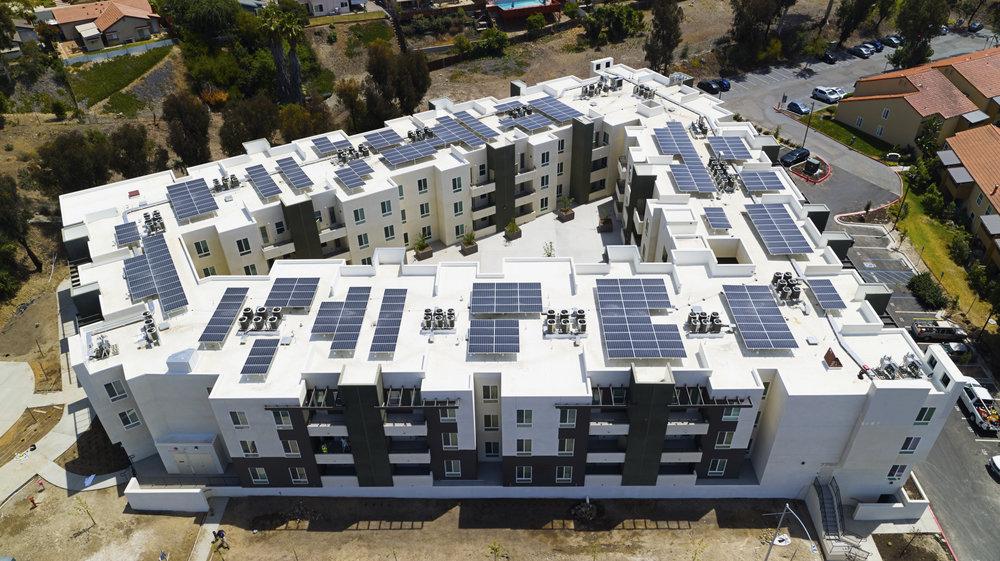 Solar installation in El Cajon, CA