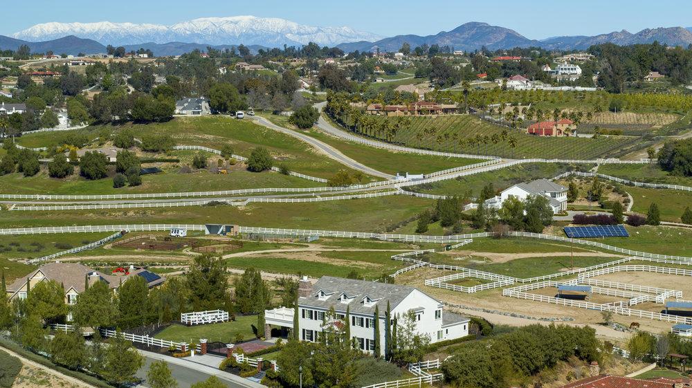Equestrian estate in Temecula Valley
