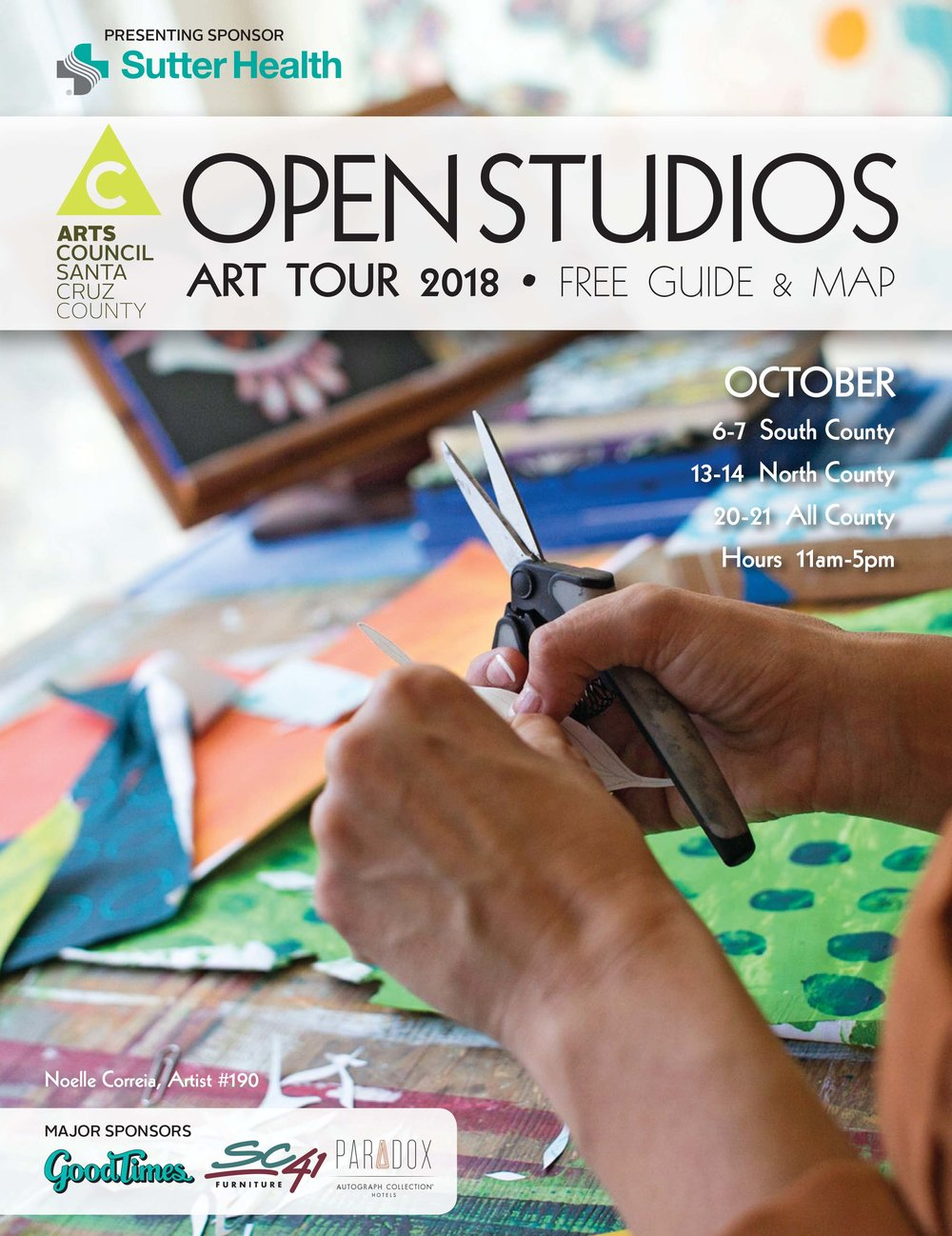 Artist Guides are now available! Find your FREE guide at one of the following locations while supplies last. Or view online here. -