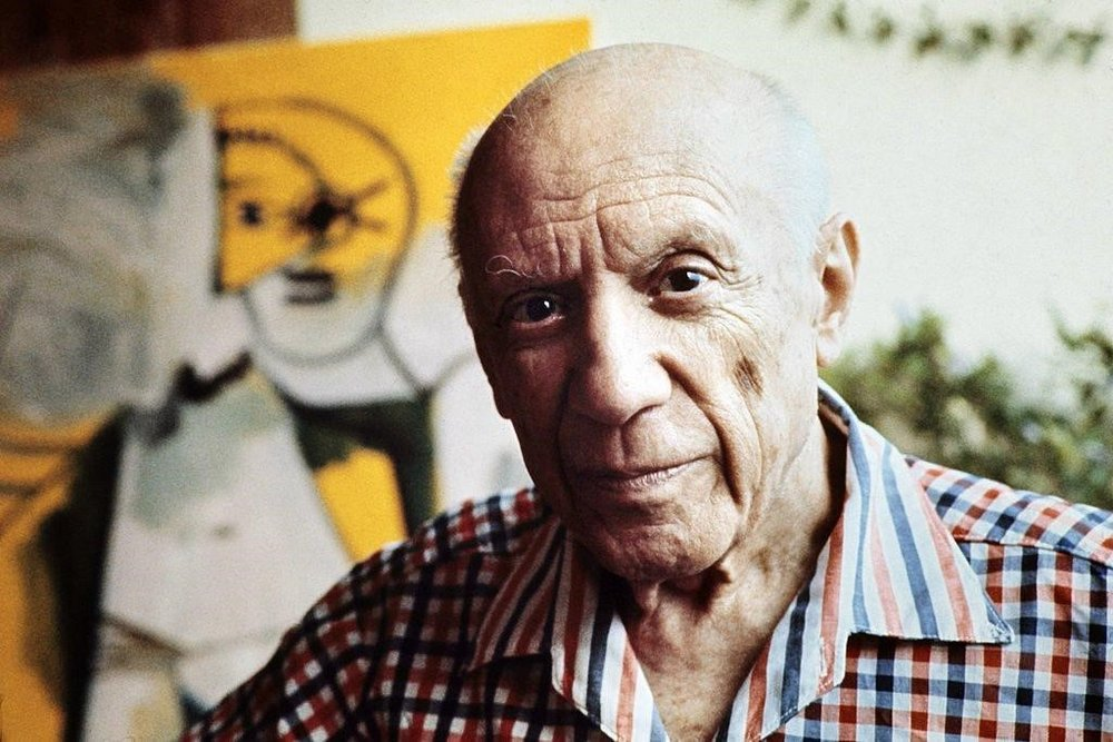 Pablo Picasso . Courtesy of Ralph Gatti/AFP/Getty Images.